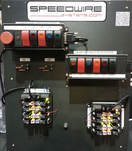 speedwire systems products:: race car electrical wiring ... race car wiring relay board speed wire race car wiring #15